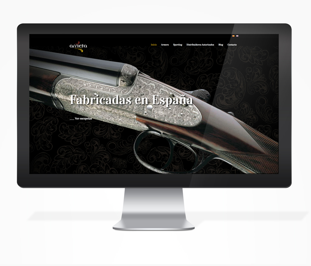 rto-publicidad-diseño-web-arrieta-shotguns-vitoria