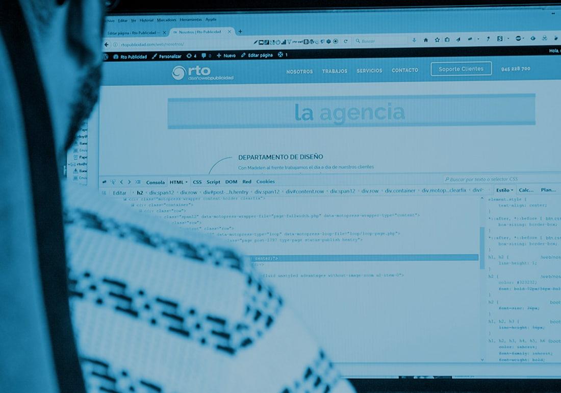 Diseño web en Vitoria