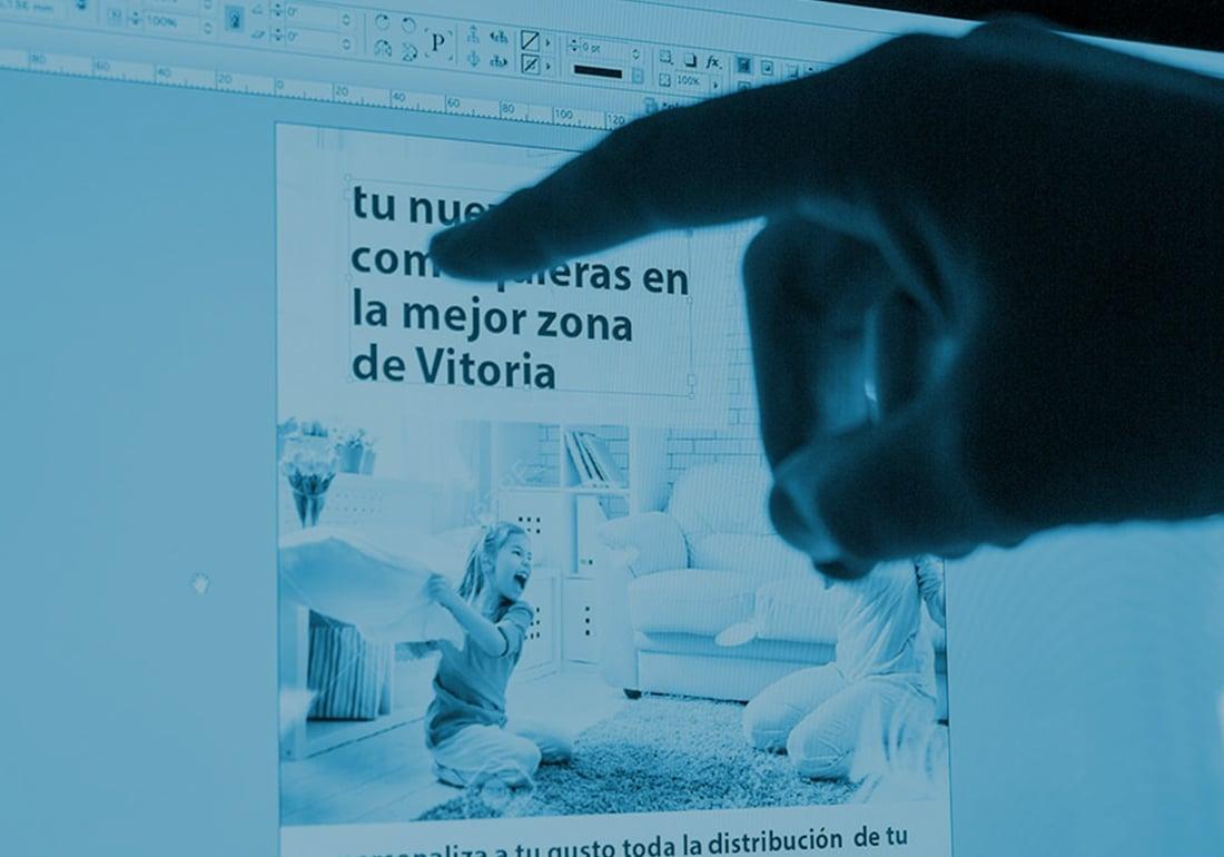 Diseño gráfico en Vitoria